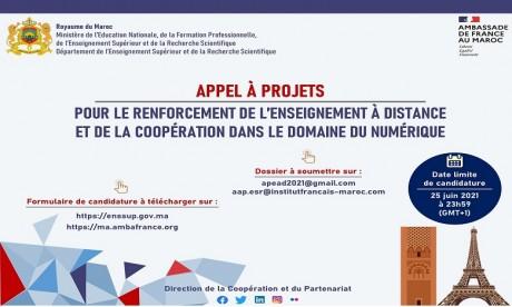 Maroc-France: Appel à projet pour soutenir l'enseignement à distance dans les universités