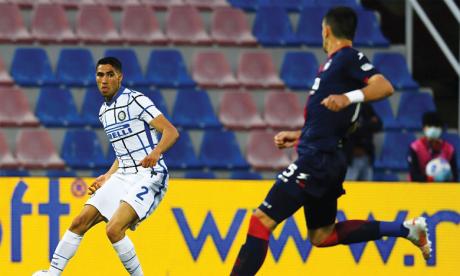 Achraf Hakimi offre le Scudetto  à l'Inter Milan