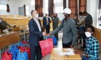 L'Université prévoit d'organiser d'autres initiatives après le mois de Ramadan au profit des étudiants marocains non boursiers de l'UAE. Ph : MAP