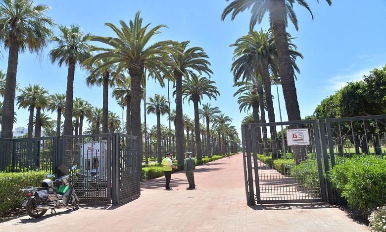 Casablanca: Le parc de la Ligue arabe ouvre ses portes au public (images)
