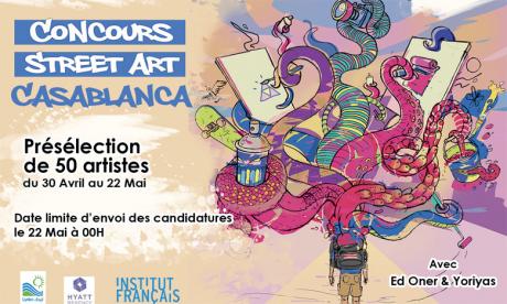 Langages du Sud et Art'Com Sup lancent «Street Art Casablanca»