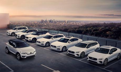 L'ensemble de la gamme Volvo récompensé