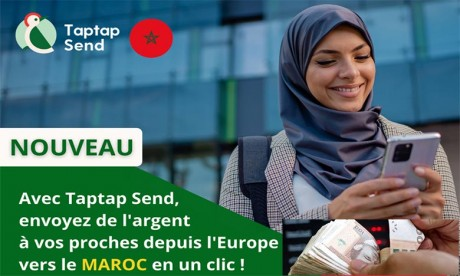 Lancement de «Taptap Send» au Maroc