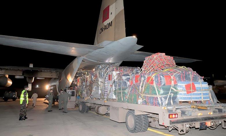 L'aide humanitaire est composée de produits alimentaires de première nécessité, de médicaments de soins d'urgence et de couvertures. Ph : MAP