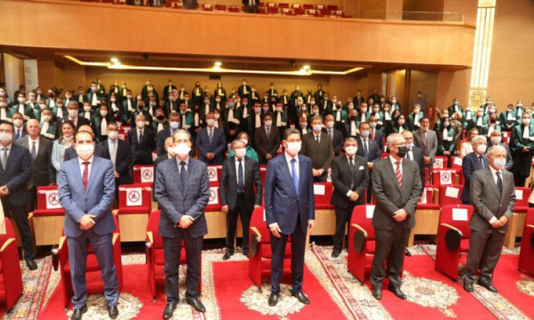 Le président délégué du CSPJ exhorte les nouveaux magistrats à observer l'éthique professionnelle en public et en privé