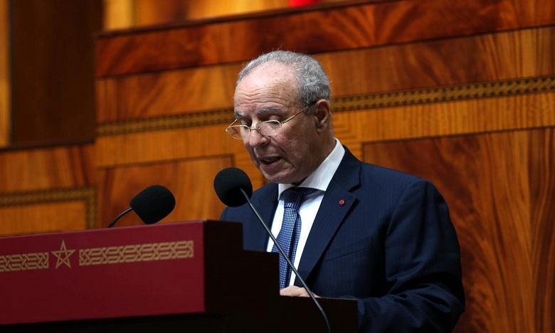 Ahmed Toufiq, ministre des Habous et des affaires islamiques. Ph. MAP