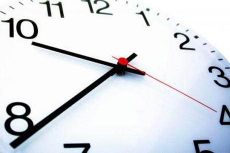 Heure légale: retour à GMT+1 ce dimanche