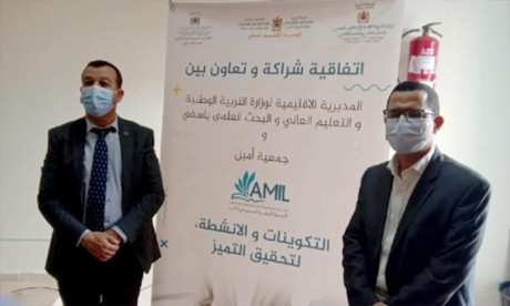 L'AREF Marrakech-Safi coopère avec l'AMIL