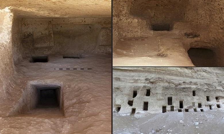Egypte : découverte de 250 tombeaux enfouis depuis plus de 4.000 ans