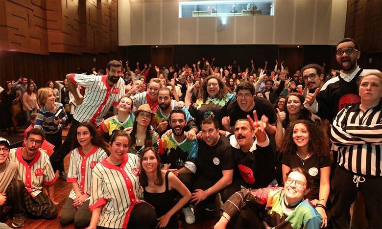 Le théâtre d'improvisation séduit le public  et les créateurs marocains
