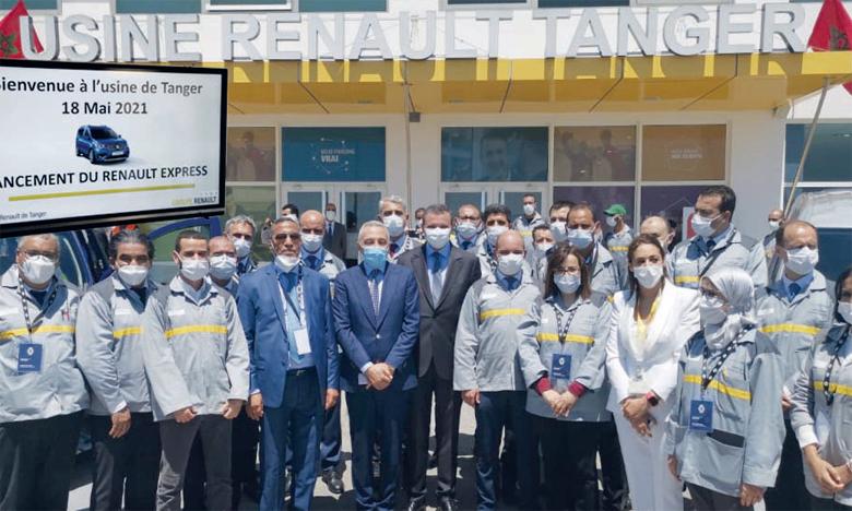 Le groupe Renault a officiellement dévoilé, mardi, les Nouvel Express et Nouvel Express Van, construits à l'usine de Tanger qui a connu un renforcement de son outil de production. Ph. M. Akisra