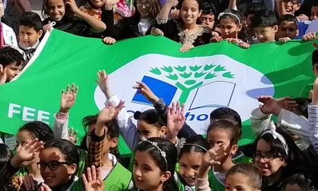 L'école Al Massira labélisée «Pavillon vert»  à Benslimane
