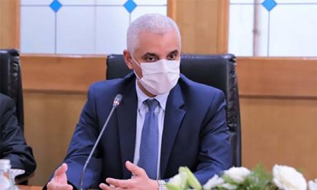 Khalid Aït Taleb : La situation épidémiologique au Maroc est stable grâce aux mesures proactives lancées par S.M. le Roi Mohammed VI