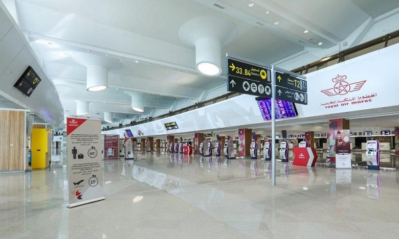 Aéroport Mohammed V: les vols internationaux transférés au Terminal 1