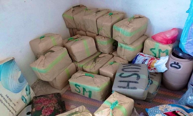 Tan-Tan: Plus de 6,5 tonnes de chira saisies, cinq individus interpellés