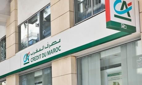 Crédit du Maroc: Hausse de 25,3 % des bénéfices au premier trimestre