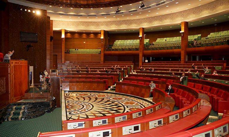 Report de la séance mensuelle de la Chambre des conseillers sur la politique générale du gouvernement. Ph : MAP