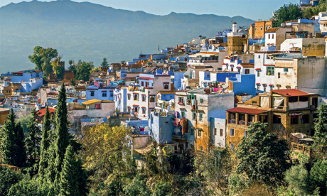 Chefchaouen, la ville bleue qui se veut verte