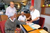 Opérateurs touristiques et mécènes solidaires avec les hlaykia de la place Jamaa El Fna