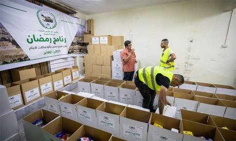 L'opération Ramadan 1442 a bénéficié à 12.000 personnes dans la Ville sainte