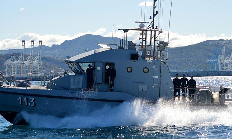 La cargaison repêchée a été remise à la Gendarmerie Royale de Nador pour procédures d'usage. Ph : DR