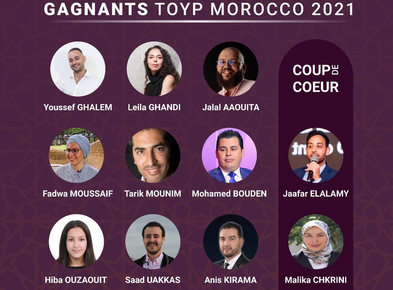 JCI : Les lauréats de la 3e édition du programme TOYP célébrés