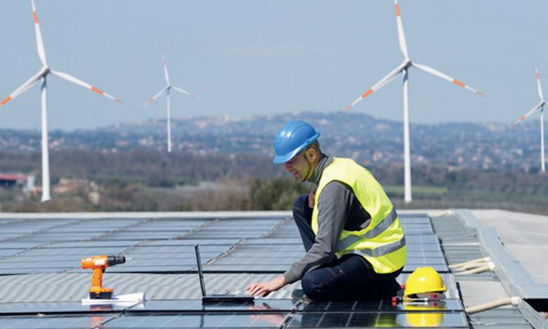 L'énergie verte pourrait créer 19 millions d'emplois additionnels dans le monde d'ici 2030, selon l'Agence internationale des énergies renouvelables. Ph. DR
