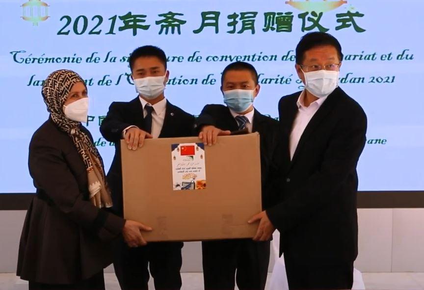 Le nouvel ambassadeur chinois signe sa première sortie officielle