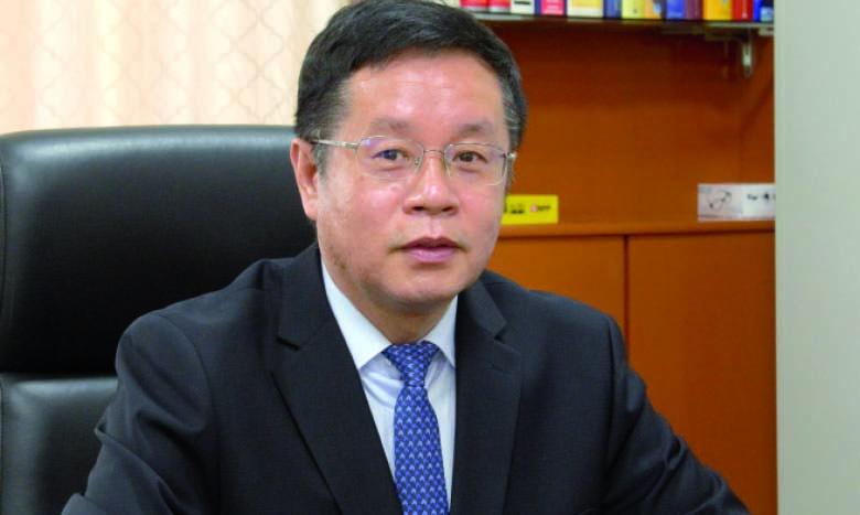 M. Li Changlin, ambassadeur de Chine au Maroc.