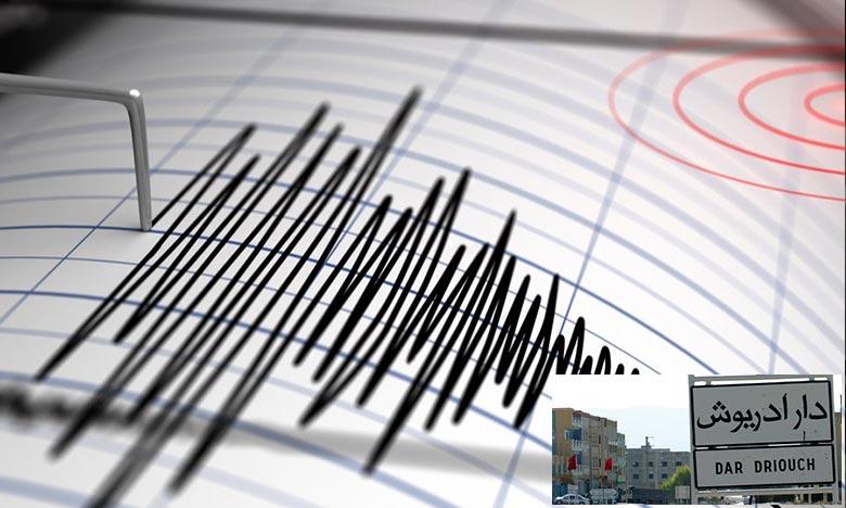 Survenue à une profondeur de 13 km, la secousse s'est produite à une latitude de 35.656°N et une longitude de 3.577°W. Ph : DR