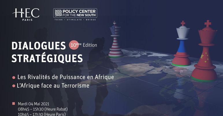PCNS: Ouverture de la 10è édition des «Dialogues stratégiques»