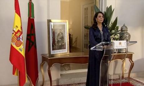 """Crise Maroc-Espagne: Mme Karima Benyaich déplore les propos """"inappropriés"""" de la ministre espagnole des AE"""
