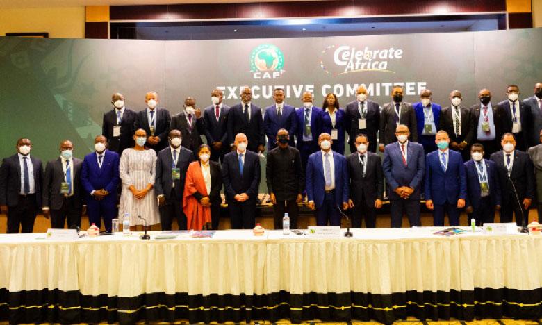 Le Comité exécutif de la CAF tenu samedi matin à Kigali, au Rwanda.