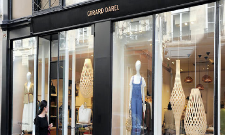 La marque Française Gérard DAREL lance son site de e-commerce