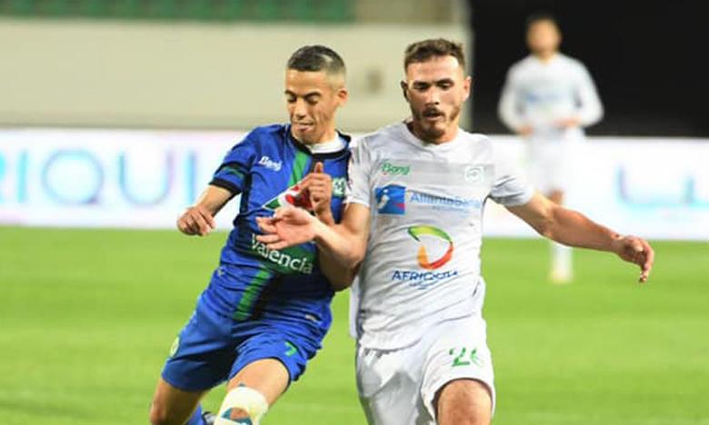 Youssef El Kaddioui (à gauche) a signé un des deux buts de la victoire Stade marocain contre l'OD.