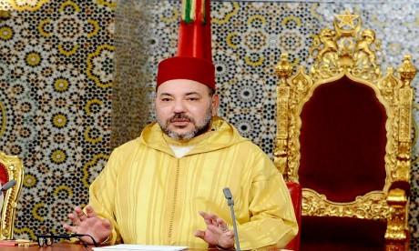 S.M. le Roi adresse un message de condoléances à la famille de l'acteur Hammadi Ammor