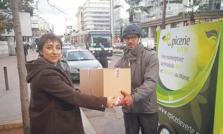 Épicerie Verte est une marketplace en ligne de produits bio, naturels et de bien-être au Maroc, à travers un site web, une application mobile et des livraisons en «same-day» sur Casablanca et à J+3 sur le reste du Maroc.