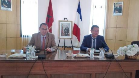 Le président de la Commune d'Al-Hoceima reçoit le Consul général de la France à Tanger