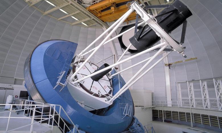 Le téléscope DESI serait capable de collecter 5.000 spectres de galaxies toutes les 20 minutes. Ph. DR