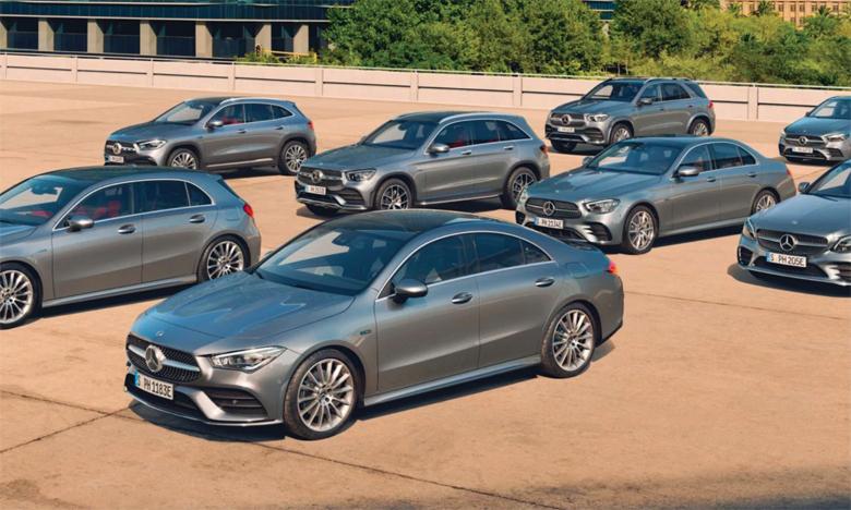 Une gamme hybride de choix pour Mercedes Maroc