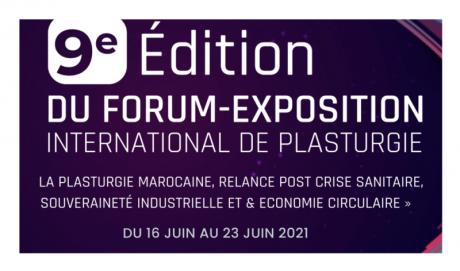 Forum de la plasturgie: Une 9e édition 100% digital démarre le 16 juin