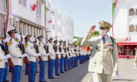 Message de fidélité et de loyalisme de la famille des FAR à S.M. le Roi à l'occasion du 65e anniversaire des Forces Armées Royales