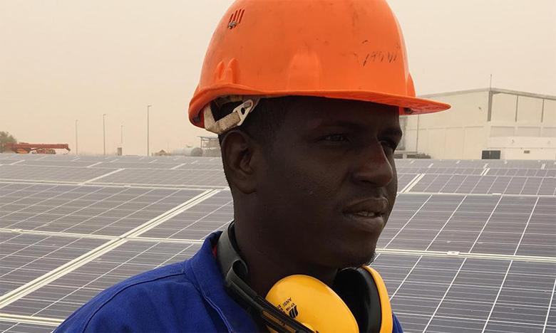 Selon l'Agence internationale pour les énergies renouvelables, les énergies vertes pourraient représenter 67% de la production d'électricité en Afrique subsaharienne d'ici 2030.   Ph. AFD