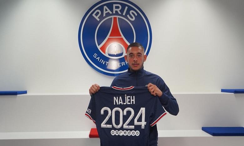 Foot: Premier contrat pro du Marocain Kaïs Najeh au PSG