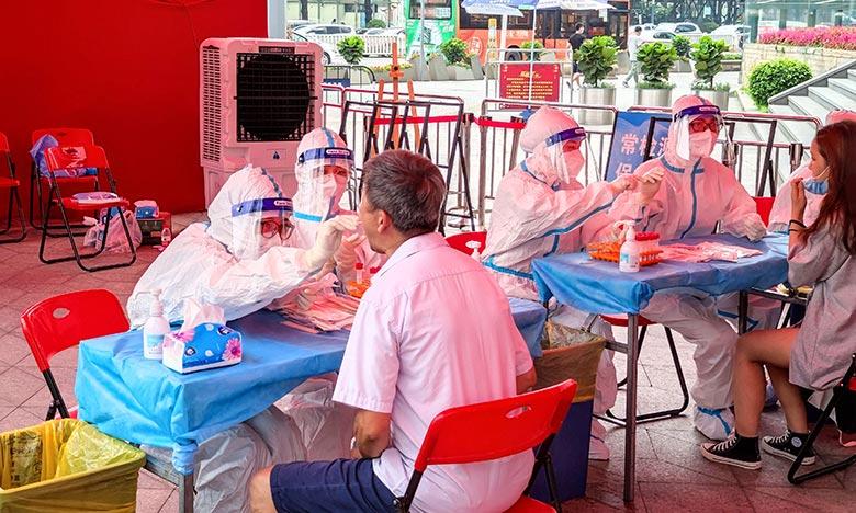 La résurgence de l'épidémie à Guangzhou, marquait la première fois que la Chine devait faire face à la propagation du variant Delta au sein du pays. Ph : AFP