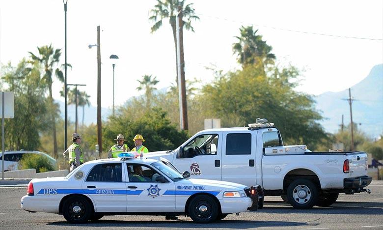 Quatre personnes ont été blessées par balle, dont une mortellement, tandis que les neuf autres victimes ont subi des blessures légères, liées pour certaines à des éclats de verre. Ph :  AFP