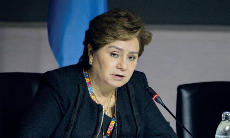 «Nous sommes encore en train de parler de promesse, alors que les émissions de de CO2 continuent d'être à leur concentration la plus élevée jamais atteinte», a déploré la secrétaire exécutive de l'ONU Climat, Patricia Espinosa. Ph. DR