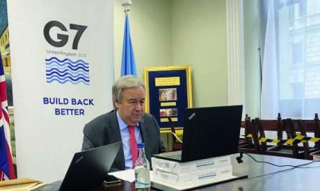 «La restauration des terres dégradées aiderait les populations vulnérables  à s'adapter aux changements climatiques», dit M. Guterres. Ph. ONU