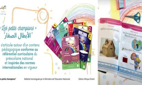 «Les petits champions», la nouvelle mallette de préscolaire  de la Fondation Zakoura