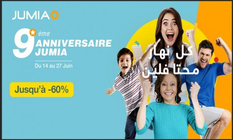 """Jumia Maroc célèbre ses 9 ans avec un programme de promotions """"inédites"""""""